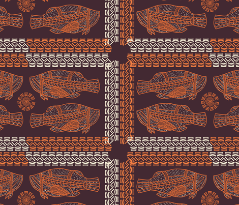 African_Fish fabric by gukuuki on Spoonflower - custom fabric