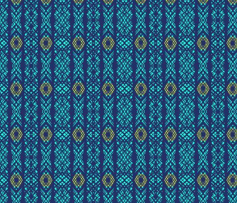 lacy coordinate peacock fabric by katarina on Spoonflower - custom fabric