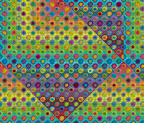 Quilty Pleasure fabric by aftermyart on Spoonflower - custom fabric