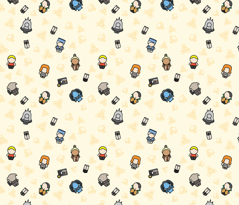 Multipass fabric by studiofibonacci on Spoonflower - custom fabric