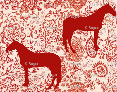 The Red Forest Horse