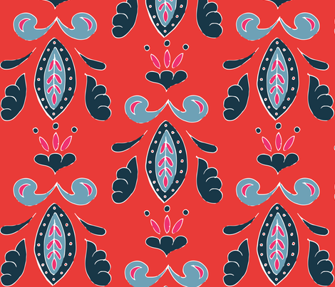 American Sari fabric by hazelrose on Spoonflower - custom fabric