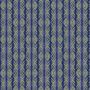 lacy tiger stripe coordinate peacock