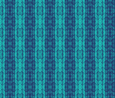 peacock lace  lines coordinate fabric by katarina on Spoonflower - custom fabric