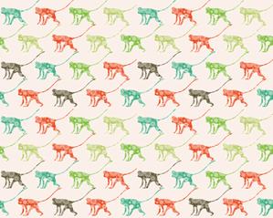 Monkeying Around fabric by ebygomm on Spoonflower - custom fabric