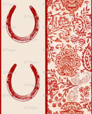 The Red Forest Horse Shoe