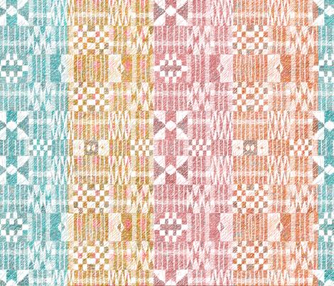 Kente Stripes  fabric by vo_aka_virginiao on Spoonflower - custom fabric