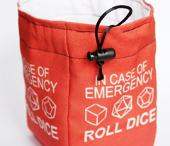 In Case of Emergency Roll Dice: White Interior
