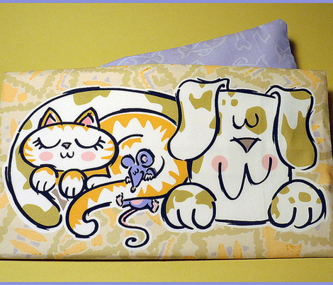 Cuddle Huddle Cut and Sew Warmable Pillow