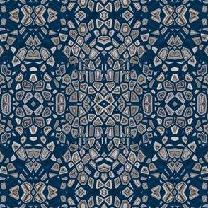 Navy Mosaic © Gingezel™ 2013
