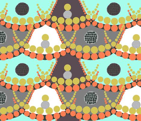 african dots fabric by katarina on Spoonflower - custom fabric