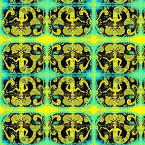 Grand Mermaids-gold/blue