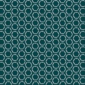 Turquoise Honeycomb Invert