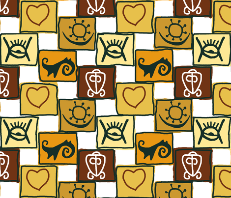 African_strength fabric by khowardquilts on Spoonflower - custom fabric