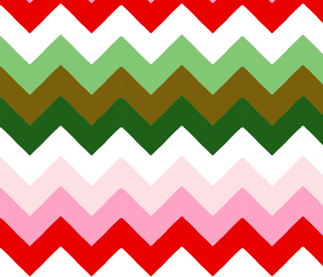 chevron_double_L fabric by nadja_petremand on Spoonflower - custom fabric