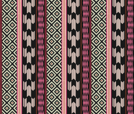 African Fusion fabric by fable_design on Spoonflower - custom fabric