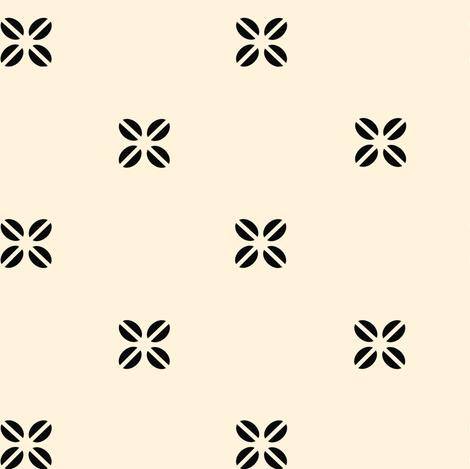 Kenya Cross  - Creme fabric by sheila_marie_delgado on Spoonflower - custom fabric