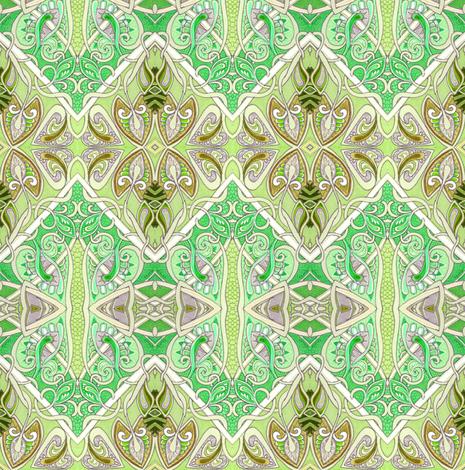 Fruit of De Vine (diagonal patchwork square spades) fabric by edsel2084 on Spoonflower - custom fabric
