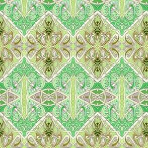 Fruit of De Vine (diagonal patchwork square spades)
