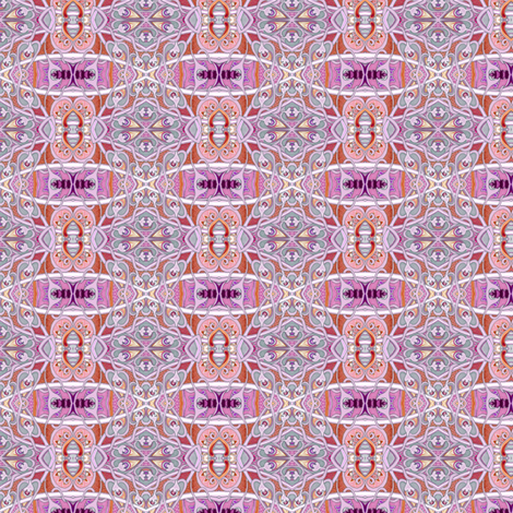Sugar and Spice and Everything Tangled Up in Pink fabric by edsel2084 on Spoonflower - custom fabric