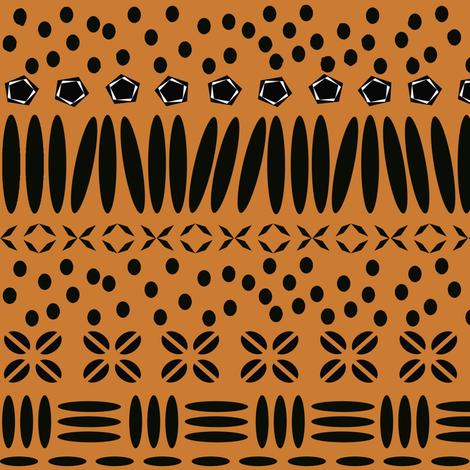 Kenya Star - Earth fabric by sheila_marie_delgado on Spoonflower - custom fabric