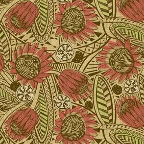 Flora Africa Protea