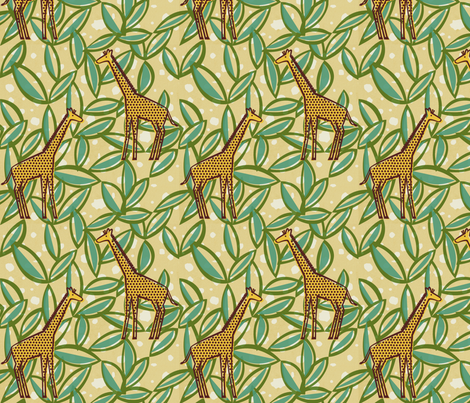 Twiga fabric by jenimp on Spoonflower - custom fabric