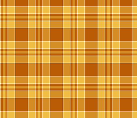 Autumn Plaid fabric by darichards on Spoonflower - custom fabric