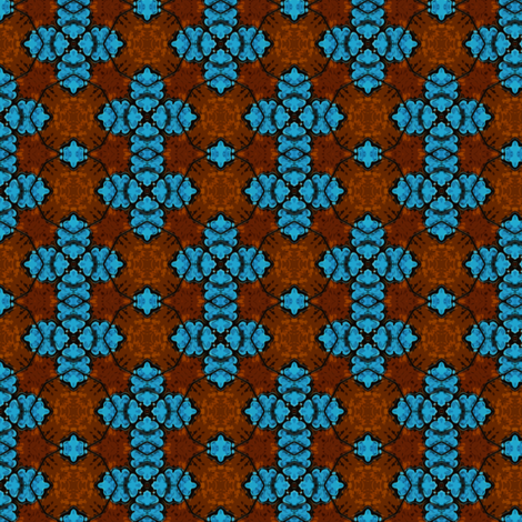 Tribal Shield fabric by rhondadesigns on Spoonflower - custom fabric