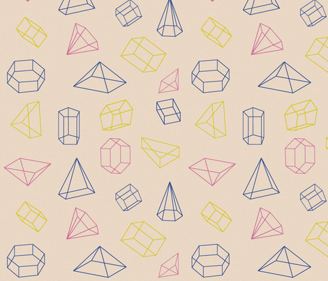 Prisms fabric by cine on Spoonflower - custom fabric