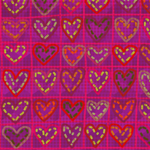 Hearts in stitches 3.