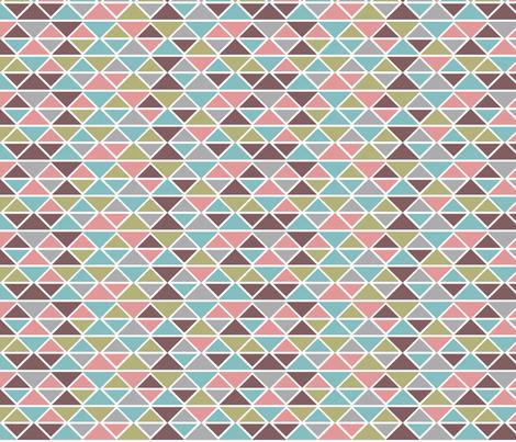 Colored diamonds fabric by cine on Spoonflower - custom fabric