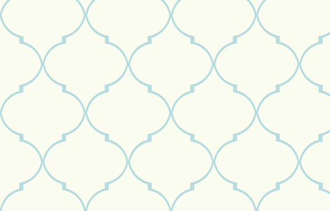 Kate Trellis in Aquamarine fabric by willowlanetextiles on Spoonflower - custom fabric