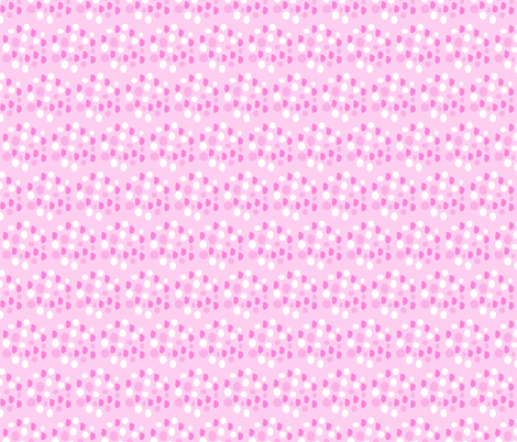 pink hexagons  fabric by mojiarts on Spoonflower - custom fabric