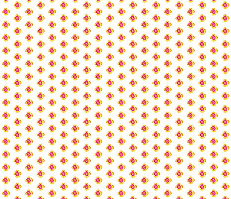 Livingston Daisy fabric by katharina~michaela on Spoonflower - custom fabric