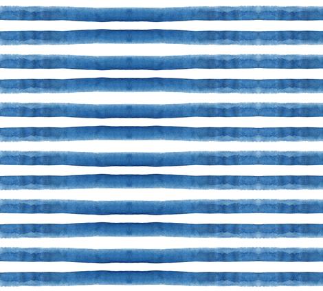 cestlaviv_rainbow (blue) ocean fabric by cest_la_viv on Spoonflower - custom fabric