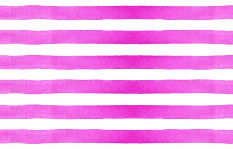 cestlaviv_rainbow (pink) fuschia fabric by @vivsbeautifulmess on Spoonflower - custom fabric