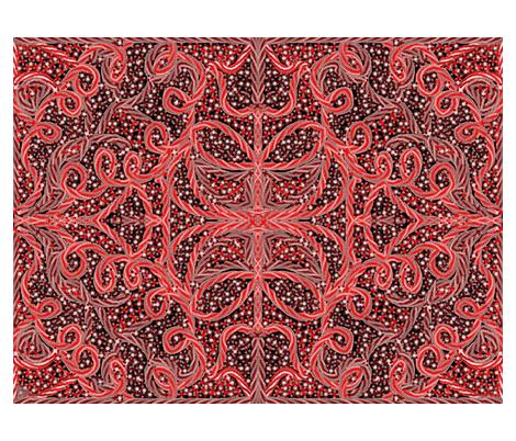 Renaissance 6. fabric by roxanainba on Spoonflower - custom fabric