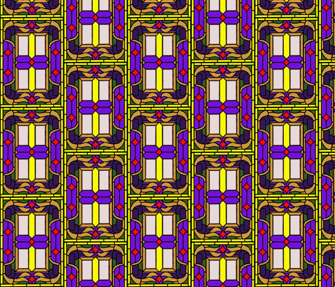 stained_glass_1 fabric by mammajamma on Spoonflower - custom fabric