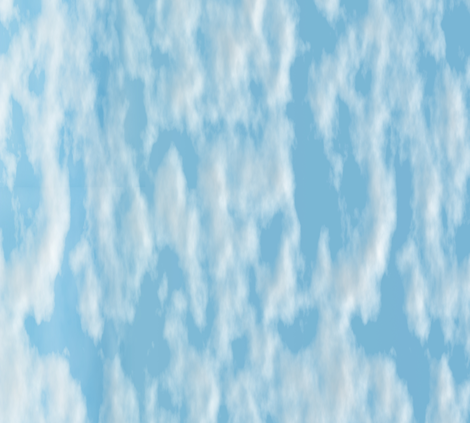 Sakurama - Sky fabric by bonnie_phantasm on Spoonflower - custom fabric