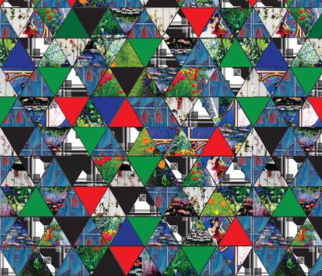 botanical_geometrics fabric by minnie29 on Spoonflower - custom fabric