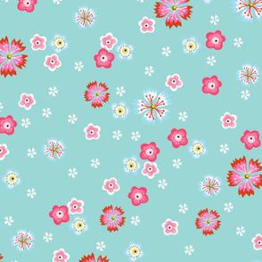 fabric_aqua_flowers