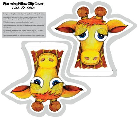 GinnyGiraffe fabric by love,witty on Spoonflower - custom fabric