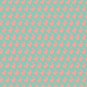 Mint and Pink Bun Bun