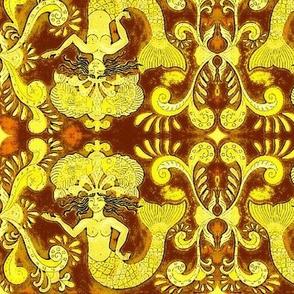 Grand Mermaids-brown/gold