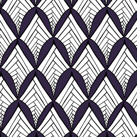 Herringbone Diamonds fabric by pond_ripple on Spoonflower - custom fabric