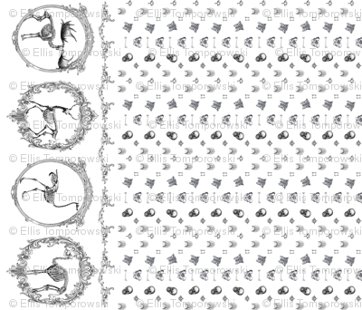 Skeletal animals