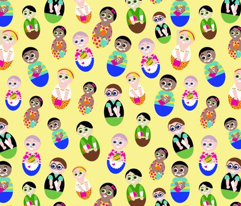 Wobblers-ch fabric by mcuetara on Spoonflower - custom fabric