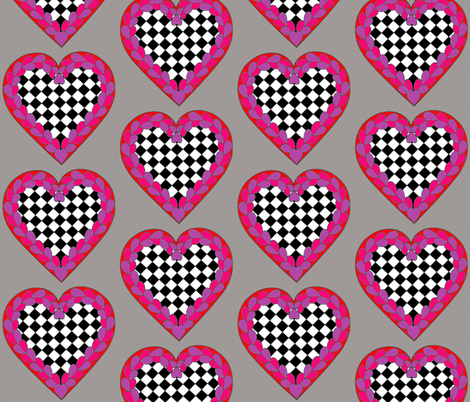 Valentine fabric by mammajamma on Spoonflower - custom fabric