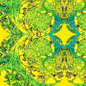 Kalidoscope-green/yellow